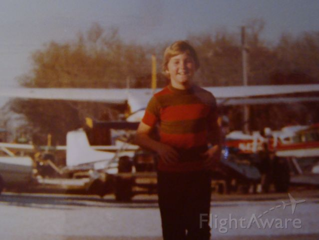 — — - Me, at Westwego Airport. Growing up on the seaplane base was the life, good and bad but 90%25 good. I could only thank my Dad for the opportunity of a life time. Also met some cool People and friends. Thanks Dad, I Love You.