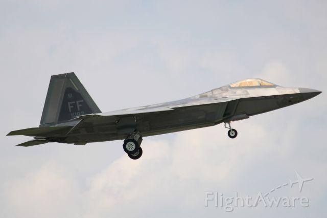 Lockheed F-22 Raptor (09-4182)
