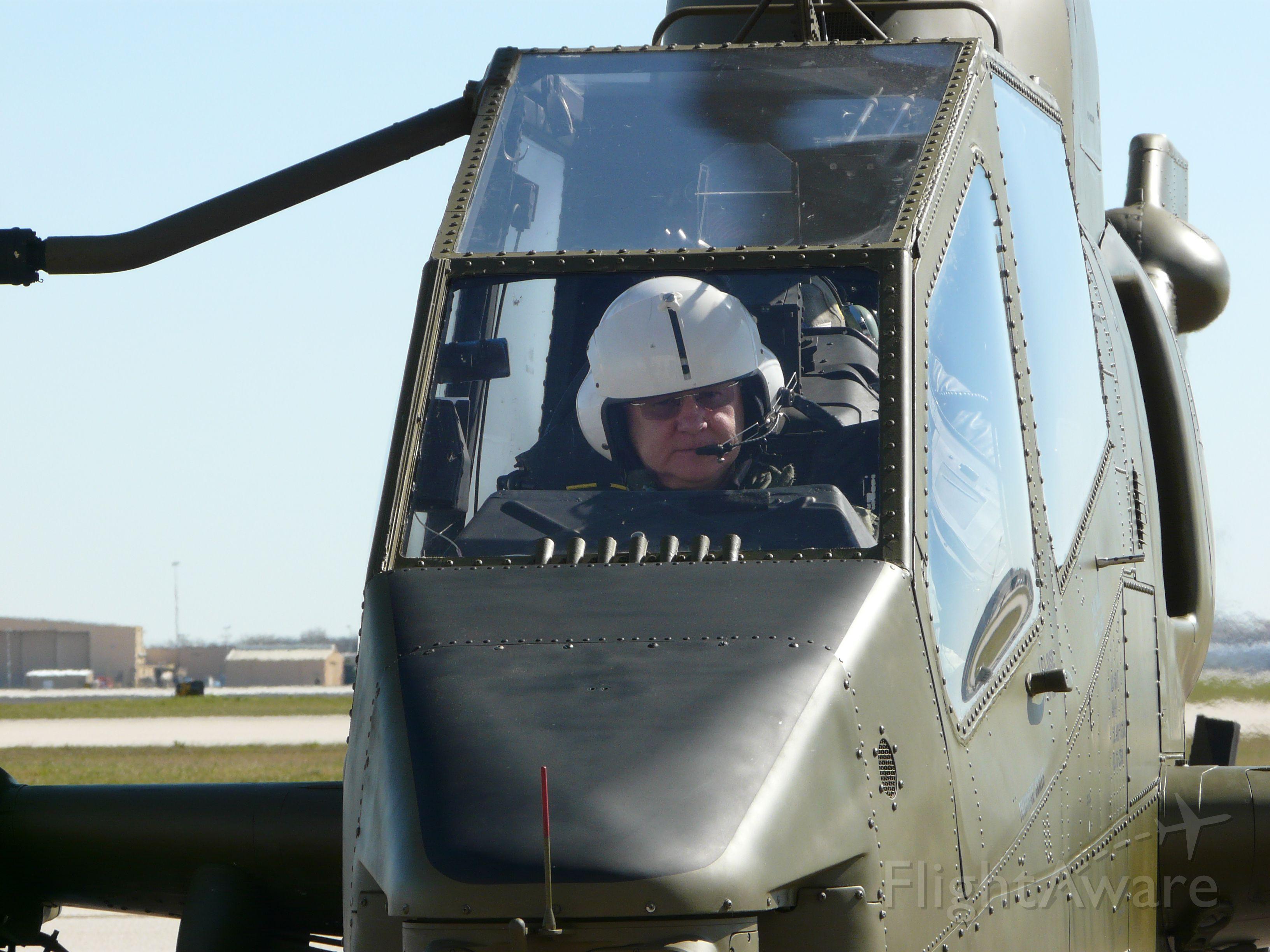 N599HF — - Paul Cobb landing N599HF, a Bell Cobra TAH-1P at the 1940 Air Terminal Museum at Hobby Airport in Houston, Texas