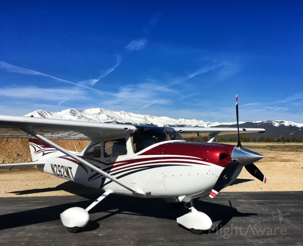 Cessna Skylane (N262MT) - TAEFC Mountain Clinic (KLXV - Leadville, Colorado. North America's Highest Elev. Airport) May 6, 2017