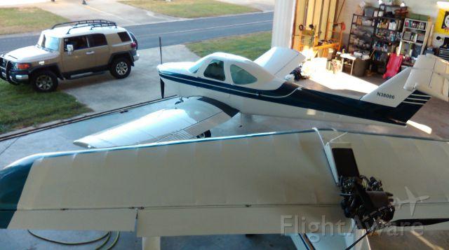 Beechcraft Skipper (N38086) - KGSO in the Hanger