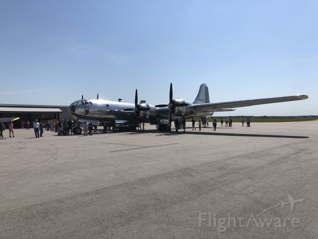 Boeing B-29 Superfortress (N69972) - B-29 Doc at New Century Air Center (KIXD) on Saturday, September 7, 2019.