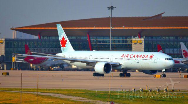 BOEING 777-300ER — - AC32 Took off on Runway 36R of ZBAA