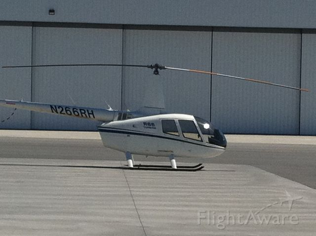 Robinson R-66 (N266RH) - Robinson Turbine R66. Just landed after test flight to Bakersfield, CA
