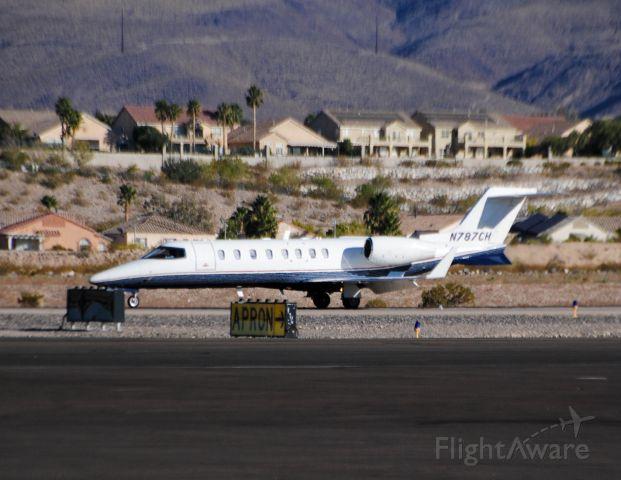 Learjet 45 (N787CH)
