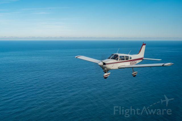Piper Cherokee (N15694) - N15694 departing KFFA on 24 January 2021