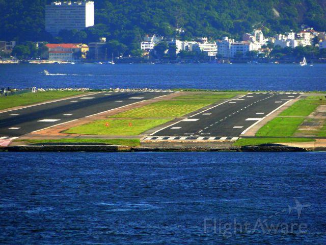 — — - Santos Dumont Airport (SBRJ) (SDU), Rio de Janeiro, Brazil.