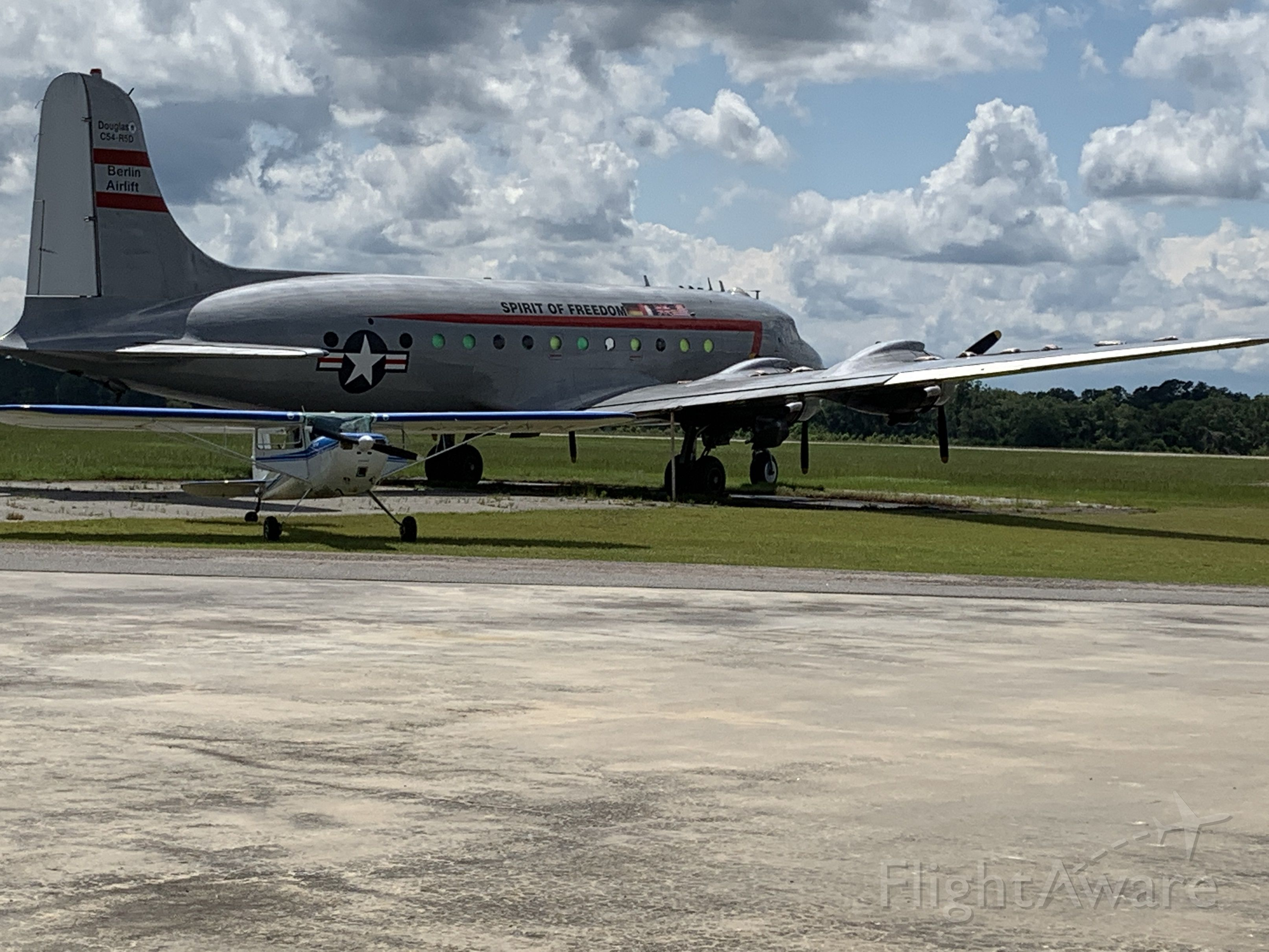 N500EJ — - C-54 that was at Walterboro, SC for ADS-B installation and damaged by 2020 tornados. This is a Berlin airlift museum, not sure if it actually participated.