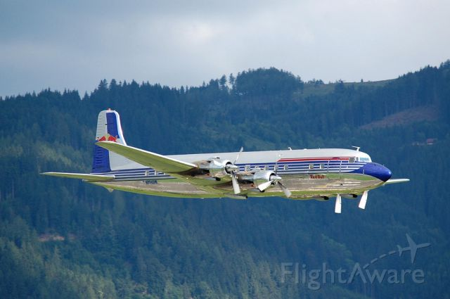 Douglas DC-6 (N996DM) - Airpower 2011  The biggest and best airshow of europe.