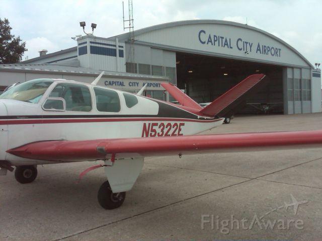 Beechcraft 35 Bonanza (N5322E)