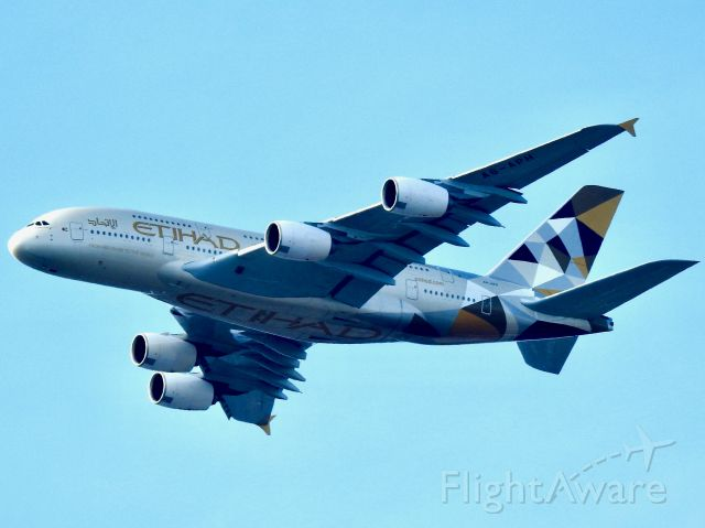 Airbus A380-800 (A6-APH) - ETD101 AUH-JFK
