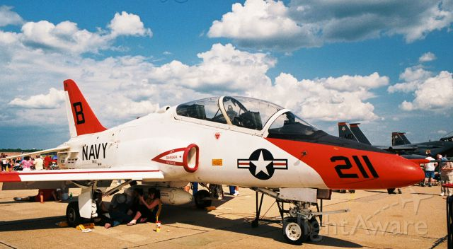 Boeing Goshawk (16-3611) - Navy T-45A, BuNo. 163611, from NAS Kingsville, Training Air Wing Two, photographed at Barksdale AFB Airshow in 2005.