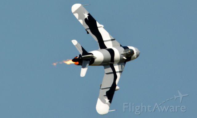 MIKOYAN MiG-17 (N9143Z) - Taken at NAS Oceana.