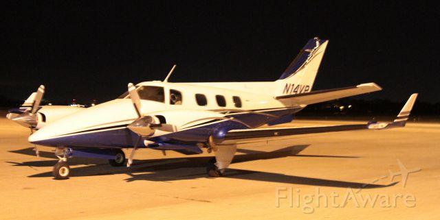 Beechcraft Duke (N14VP) - Beecchcraft Duke in Burlington, IA