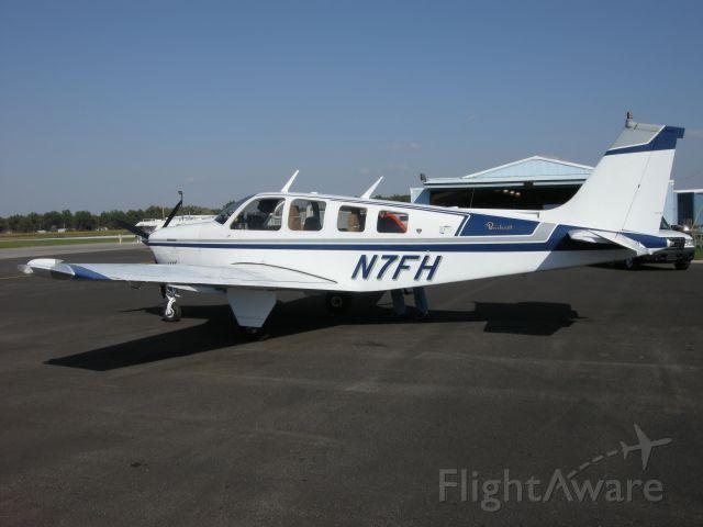 Beechcraft Bonanza (36) (N7FH) - My partner just purchased this Bonanza A36.