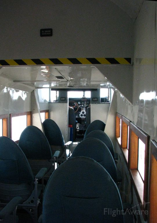 N8419 — - Ford Tri-Motor Cabin