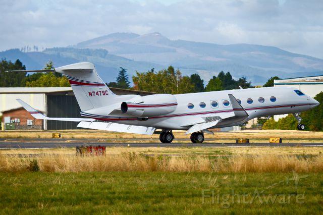 Gulfstream Aerospace Gulfstream G650 (N747SC)