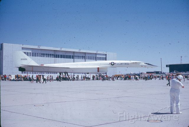 20001 — - Taken in 1965 at Edwards during open house they held each year